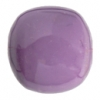 "Resin Round Beads 14mm 8"" Strand Purple"